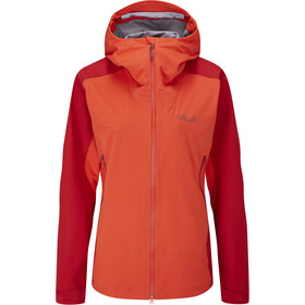 Rab Kinetic Alpine 2.0 Giacca Donna, rosso